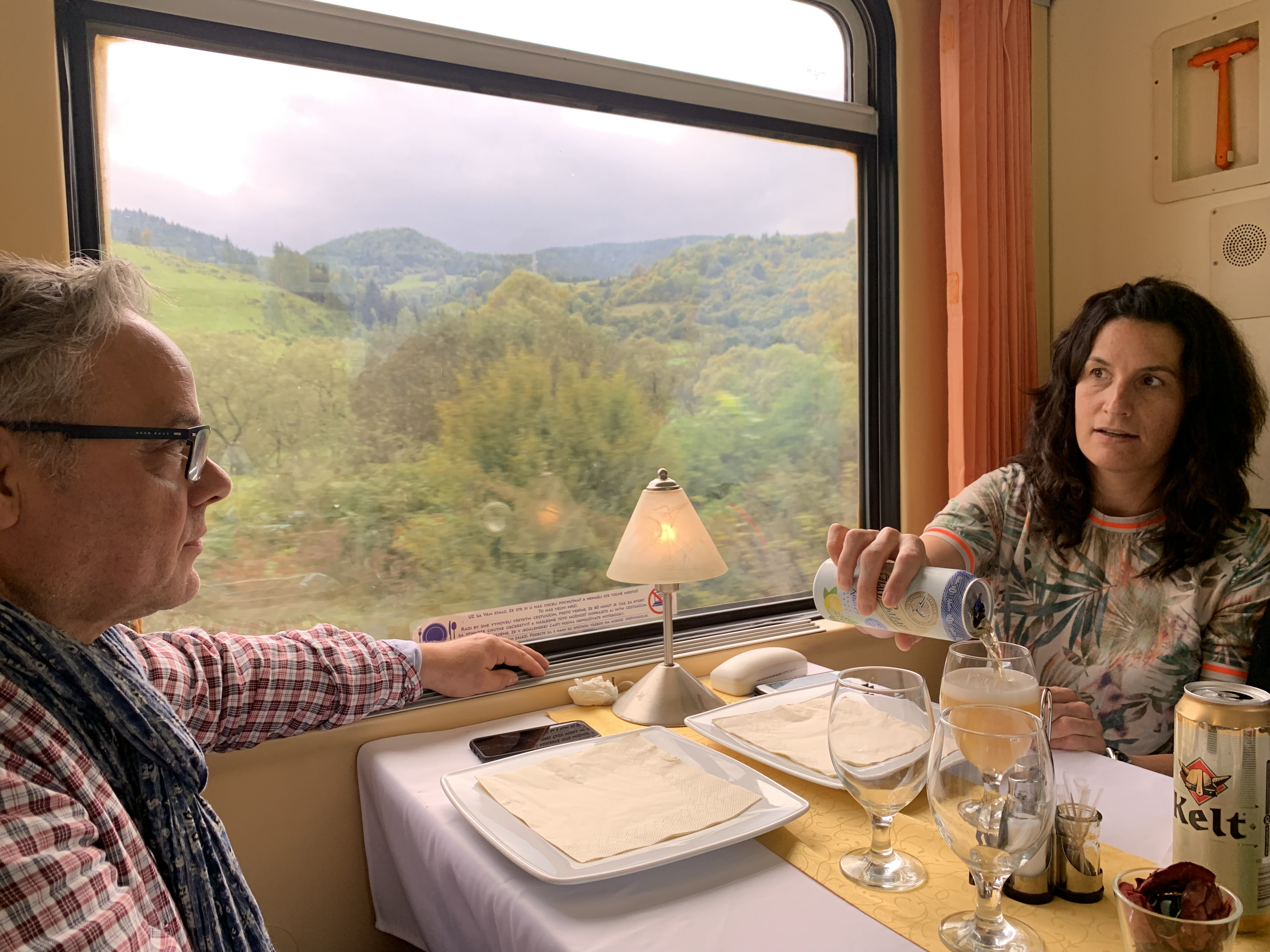 10 - Ostrava to Kosice - dining carriage
