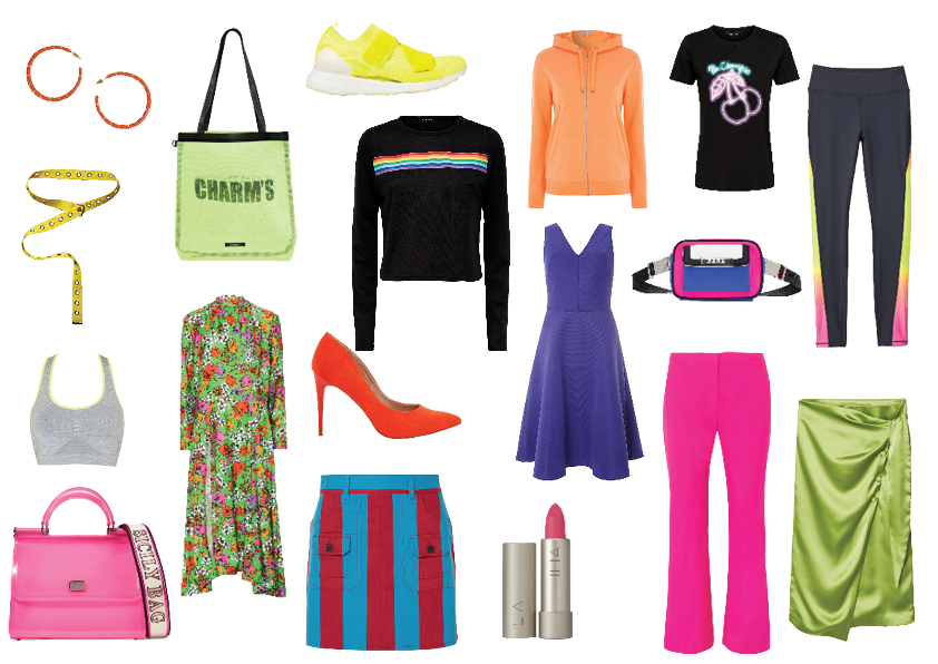 how to wear the trend neon