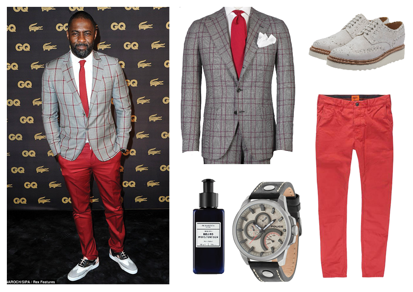 Idris Elba suited up get the look