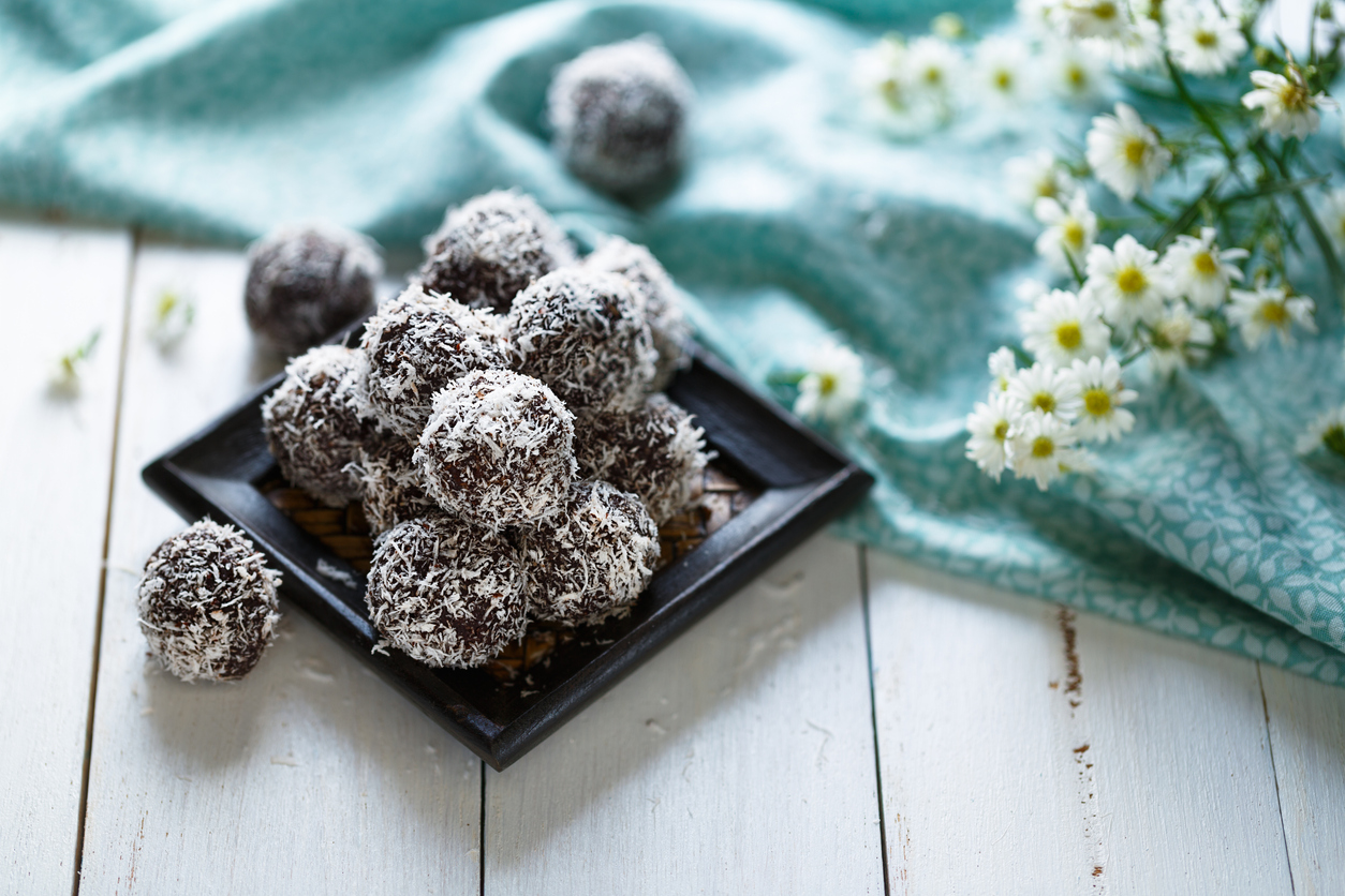 chocolate cherry coconut bites recipe