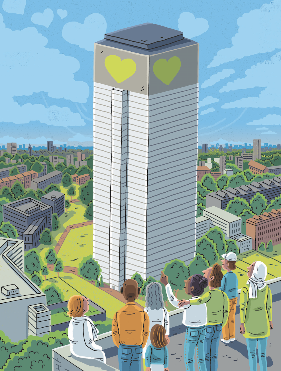 Grenfell tower two years on