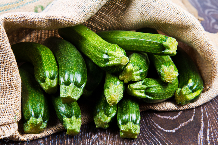 what are courgettes