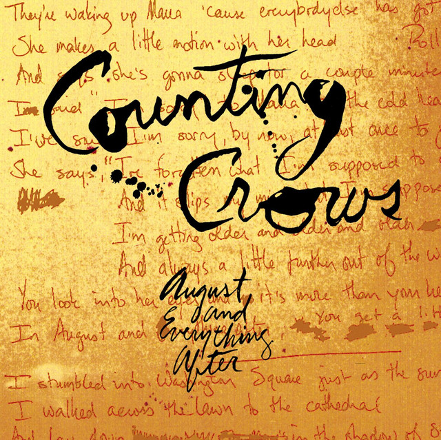Counting Crows Frank Turner
