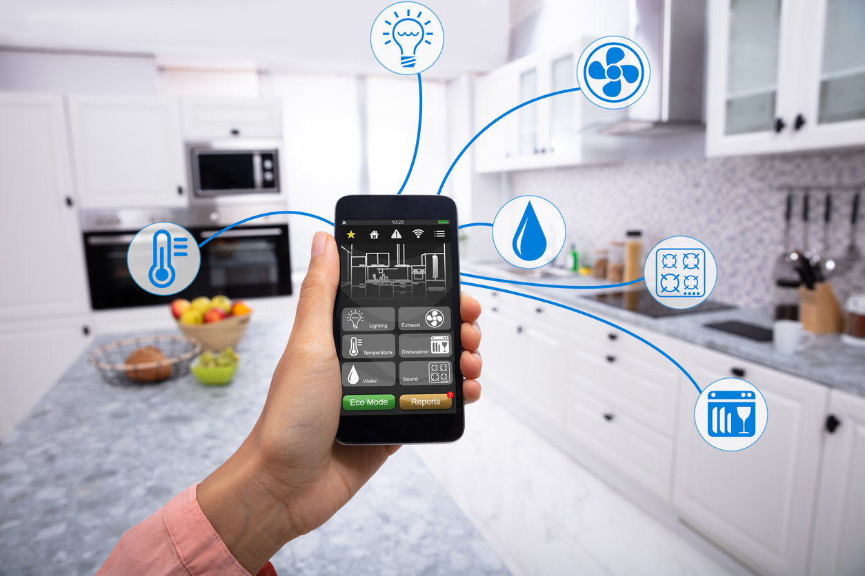 using a smart phone to control a smart home