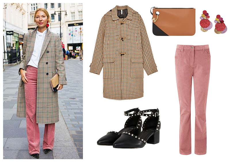 blush and tweed
