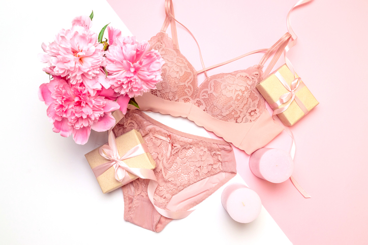 sustainable valentine's lingerie