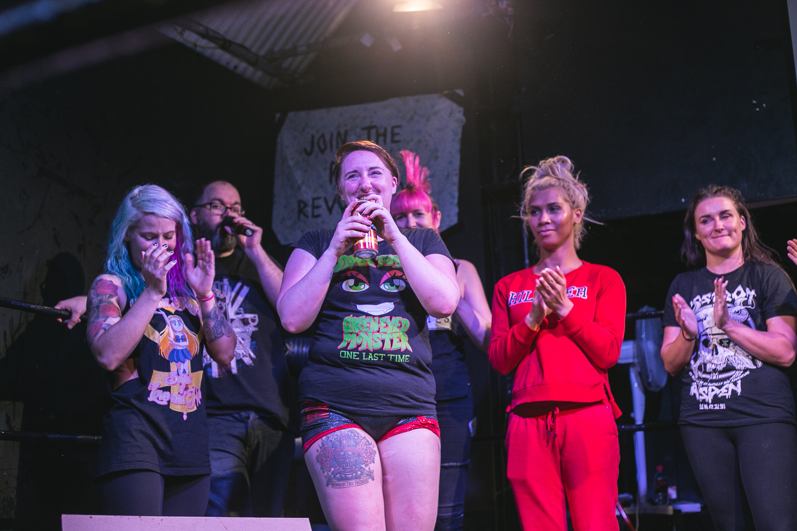 Jayla Dark's final show wrestling