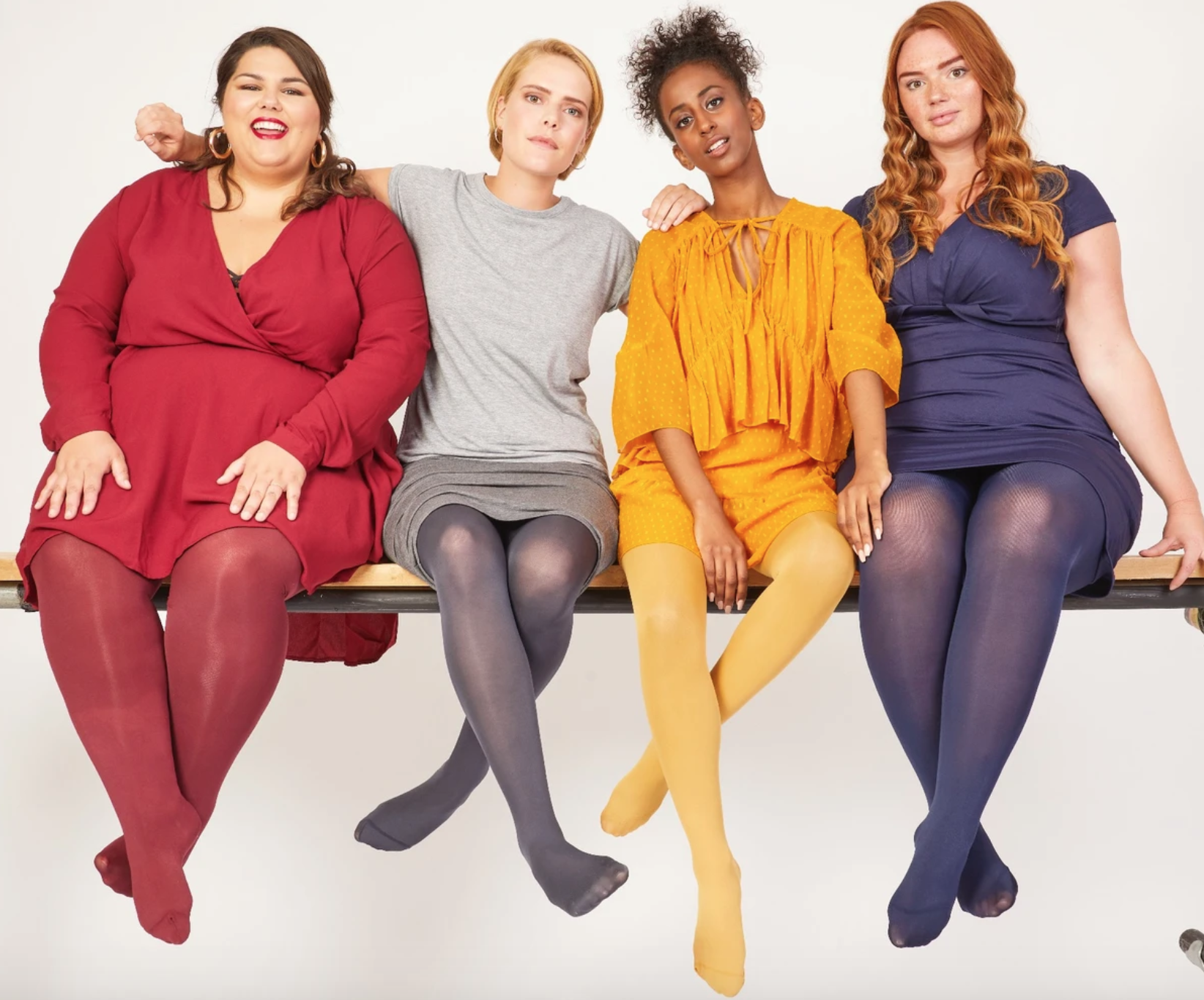 snag tights in bright colours reviewed