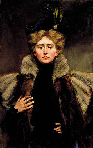 Natalie Clifford Barney, painted in 1896 by her mother Alice Pike Barney