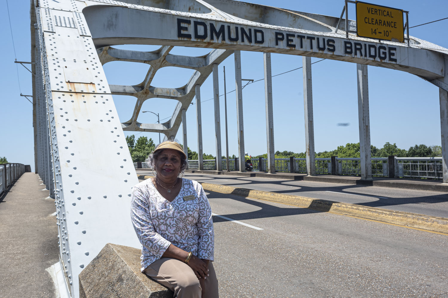 "Dianne Harris in Selma, Alabama. ""We wanted to forget about those days."""