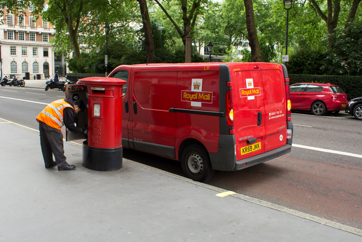 a postman could potentially be infected