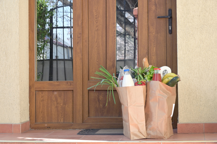 home deliveries of groceries