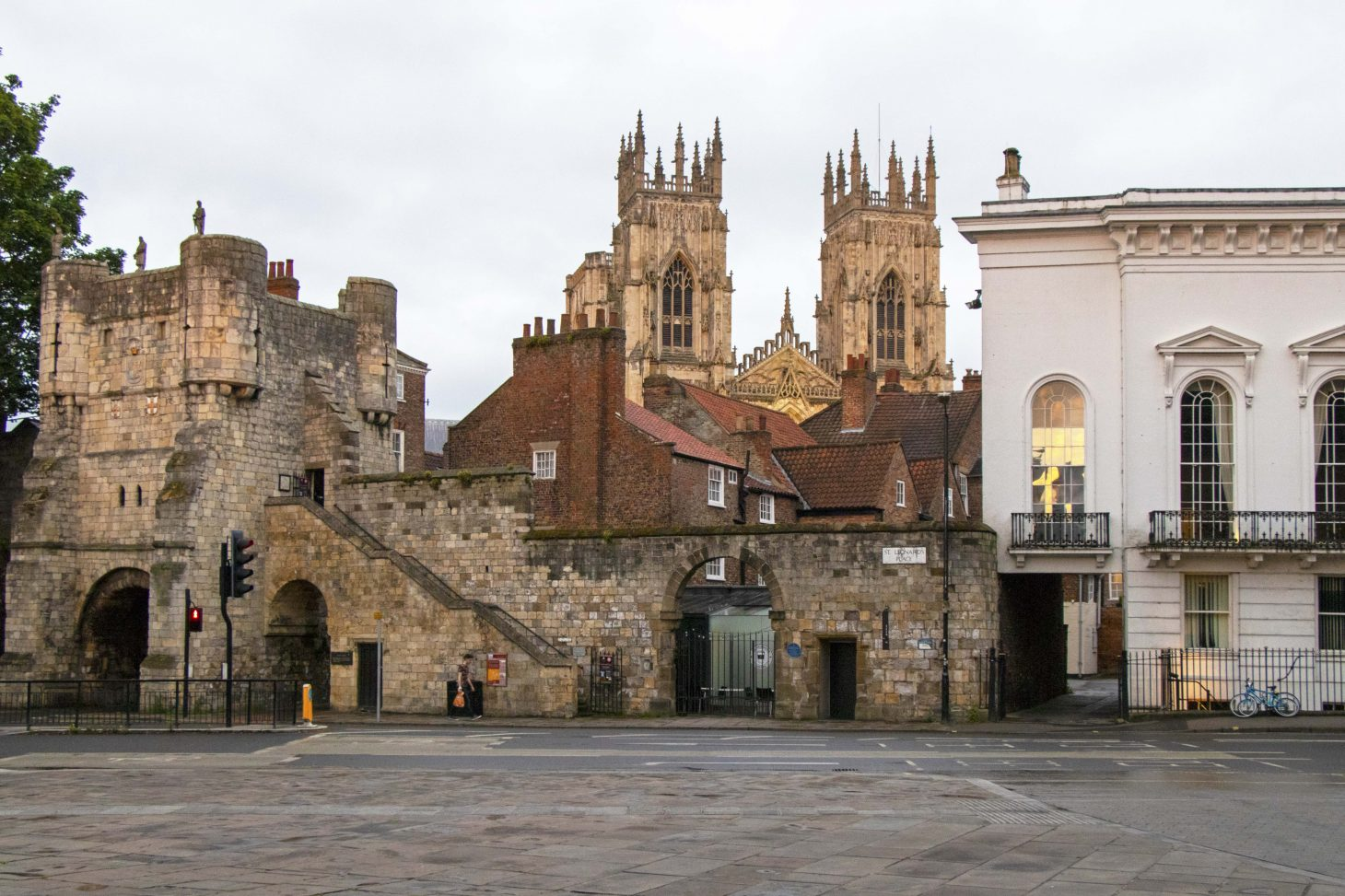 York's city walls are open from 8am daily