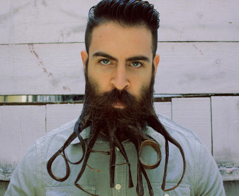 10 Weird and wacky beard styles