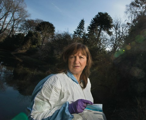 Meet the soil detective solving Britain's coldest cases