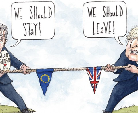 Johnson vs Johnson: The great EU debate