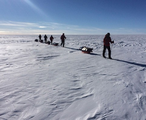 Meet the first amputee to cross Greenland
