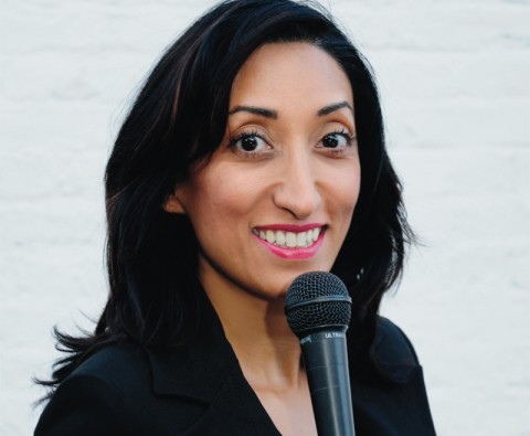 60 Second stand up: Shazia Mirza