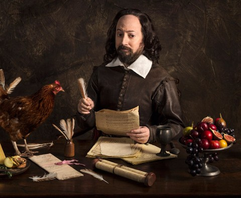 The cast of Upstart Crow talk Shakespeare, wigs and Blackadder