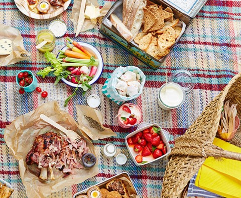 Brilliantly British picnic recipe ideas