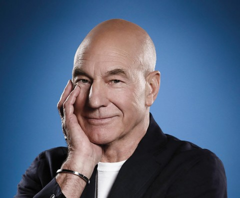 "Patrick Stewart: ""I'm having so much fun"""
