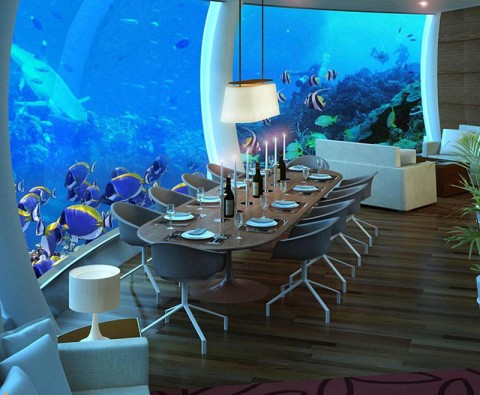 Unbelievable underwater holiday destinations