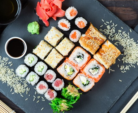 Around the world in 8 sushi dishes