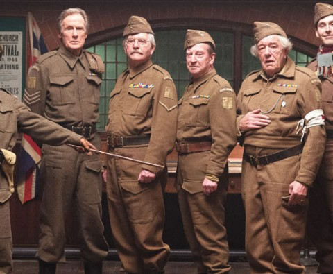 """Don't panic!"" Toby Jones and Michael Gambon talk Dad's Army"