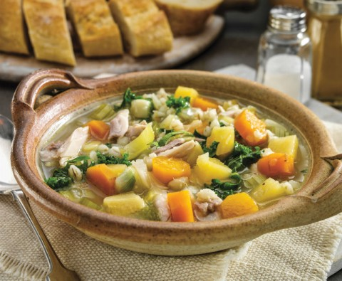 Deliciously modern Scotch Broth