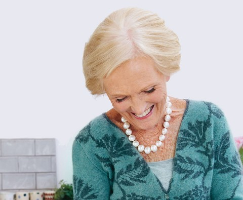 "Mary Berry: ""I don't think about being a celebrity"""