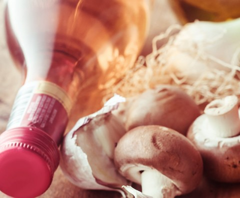 Wine and mushrooms: A match made in heaven