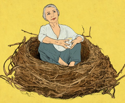 What 50 looks like now: the empty nest syndrome