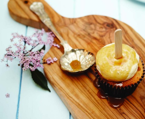 Amy-Beth Ellice's toffee apple cupcakes