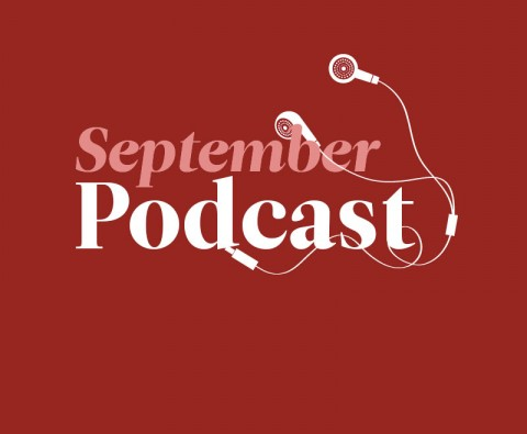 September's podcast: Christopher Eccleston, Sebastian Faulks, and a TV-drama quiz