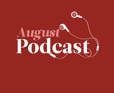 August's Podcast: Frank Barrett, Andrew Michael Hurley and Stuart Evers