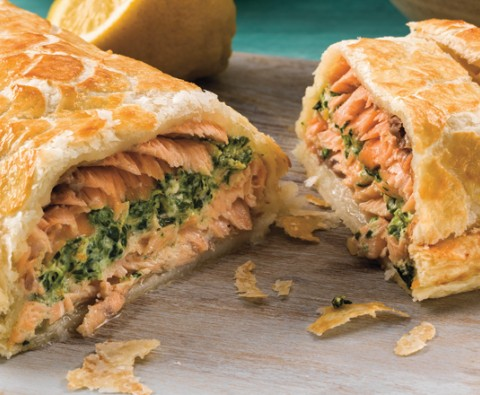 How to make the perfect salmon en croute