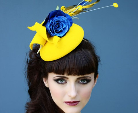 Who Wants to be a Milliner? 5 Stunning fascinators from Holly Young