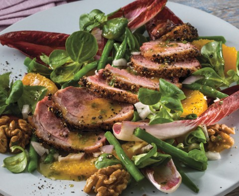Duck Breast Salad - perfect for summer