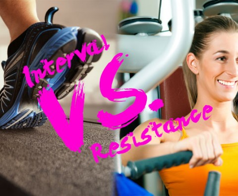 Interval training vs. resistance training