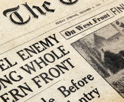 How to Find Historical News Articles About your Family