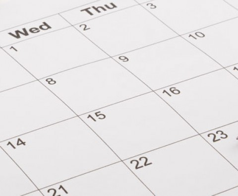 Arranging Your Financial Calendar