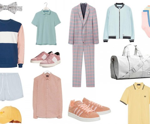 Ways to wear: Pastels for men
