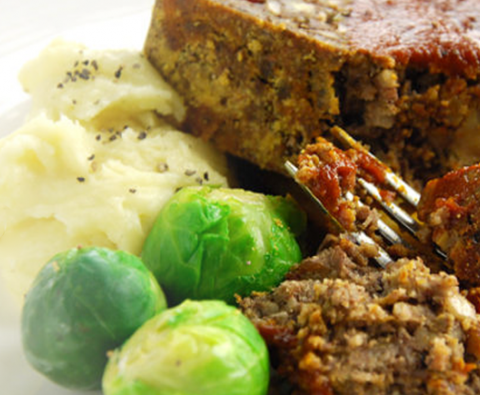 The perfect vegetarian christmas nut roast