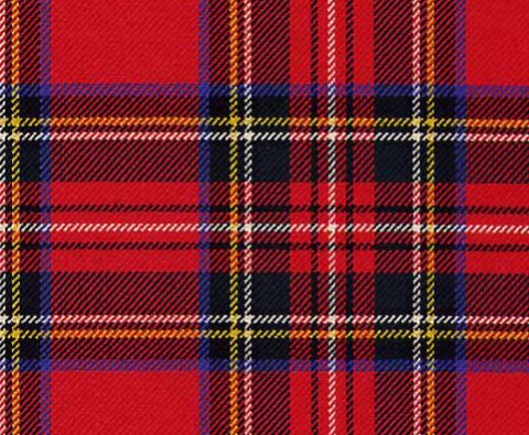 The timeless tartan scarf trend