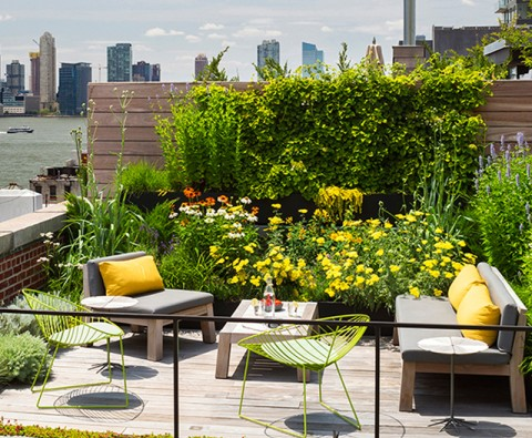 How to create your own roof terrace