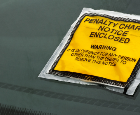 You don't have to pay for parking tickets