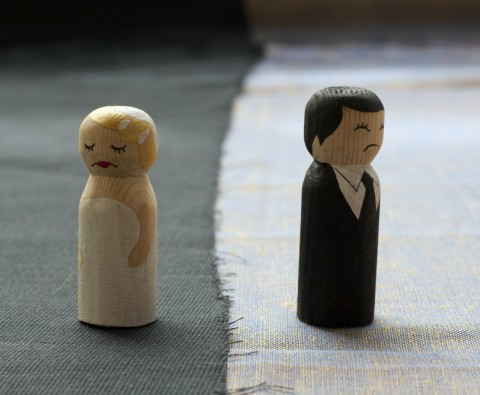 Going through divorce amicably