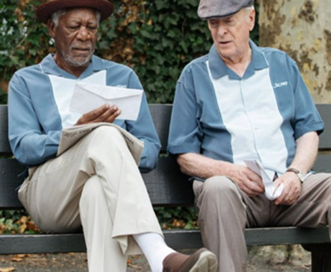 Going in Style: An interview with Morgan Freeman and Michael Caine