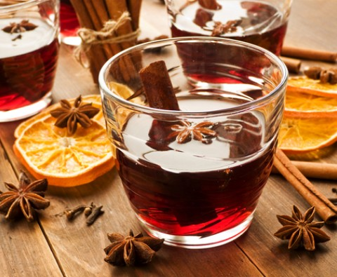 Festive Mulled wine recipe
