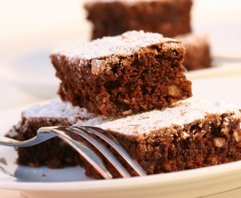These chocolate brownies are low fat, delicious and easy to make!